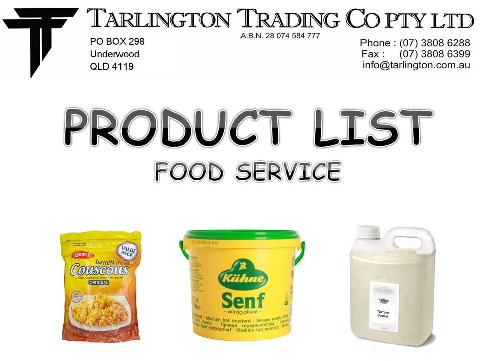 FOODSERVICEPRODUCTLIST